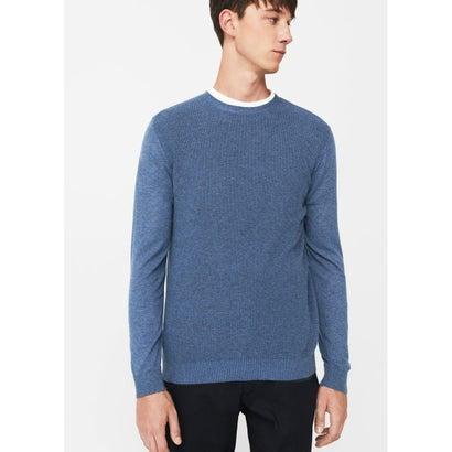 セーター .-- TENC (ミディアムブルー)