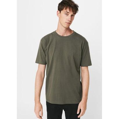 Tシャツ .-- CROSSES (ベージュ-カーキ)