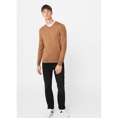 セーター .-- TEN (ミディアムブラウン)
