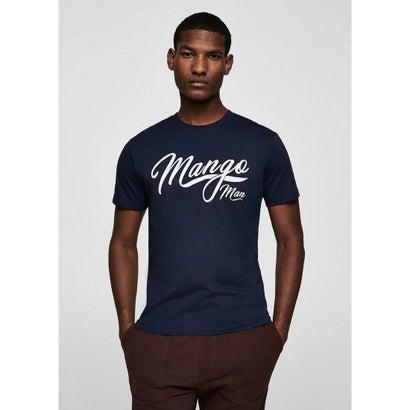 Tシャツ .-- LOGOHE2-H (ネイビーブルー)