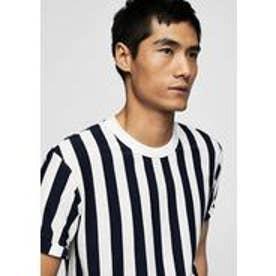 Tシャツ .-- BRUNO (ネイビーブルー)