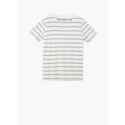 Tシャツ .-- AGUSTIN (ナチュラルホワイト)