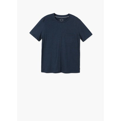Tシャツ .-- CLASSY2 (ネイビーブルー)