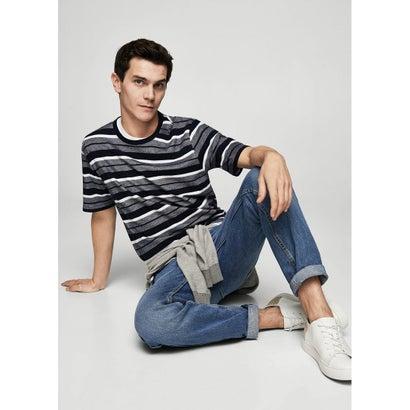 Tシャツ .-- TOMY2 (ネイビーブルー)