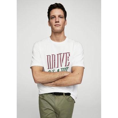 Tシャツ .-- DRIVE (ホワイト)