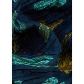 スカーフ . CACTUS (ネイビー)