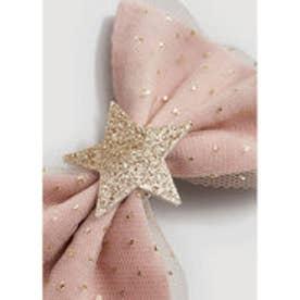 ヘアクリップ .-- STAR (ピンク)