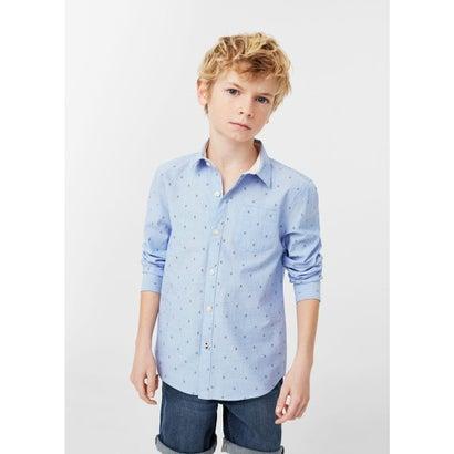 シャツ . PLANE8 (ブルー)
