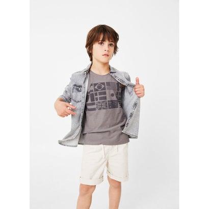 Tシャツ . BANDERAS (ダークグレー)