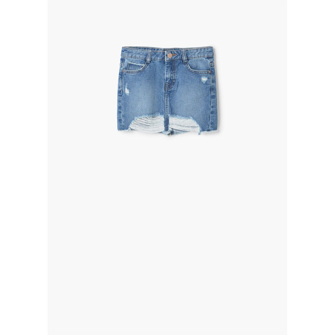【SALE 35%OFF】スカート . FリングED (ミディアムデニムブルー)