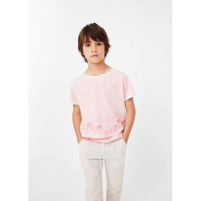 Tシャツ SPRAY (パステルピンク)