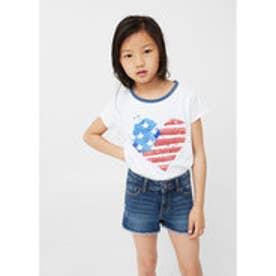 Tシャツ AMERICA (ホワイト)
