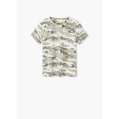 Tシャツ CAMU (ダークブラウン)