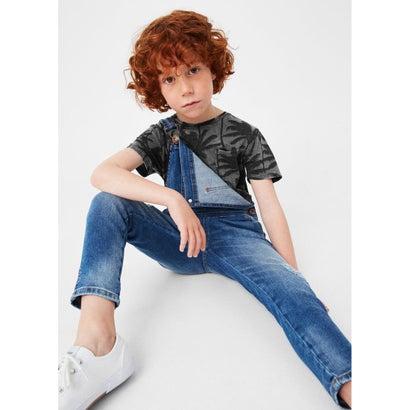 Tシャツ .-- MOON (ブラック)