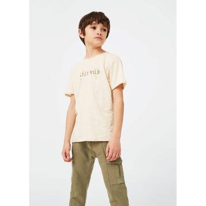 Tシャツ .-- STAY (ライトベージュ)