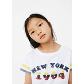 Tシャツ .-- STACY (ホワイト)
