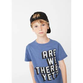 Tシャツ .-- POP (ブルー)