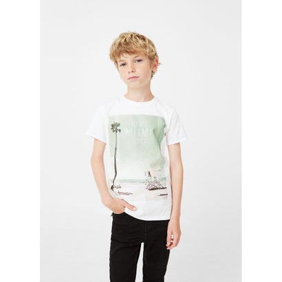 Tシャツ .-- MIAMI (ホワイト)
