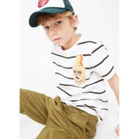 Tシャツ .-- POP (ホワイト)