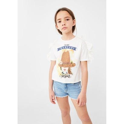 プリントTシャツ .-- GALLO (ナチュラルホワイト)