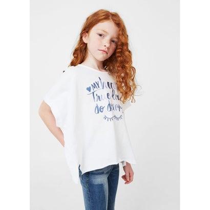 Tシャツ .-- INCA (ナチュラルホワイト)