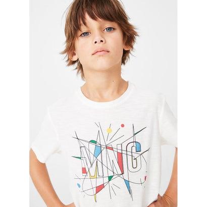 Tシャツ .-- MANGOL2 (ナチュラルホワイト)