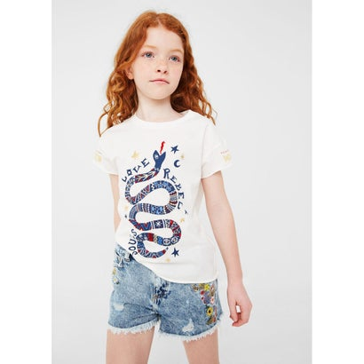 Tシャツ .-- TOLUCA (ナチュラルホワイト)
