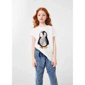 Tシャツ .-- MANI (ナチュラルホワイト)