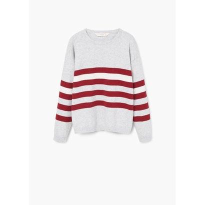 セーター .-- LINEA (パステルグレー)