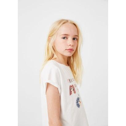 Tシャツ .-- PUNKY (ナチュラルホワイト)