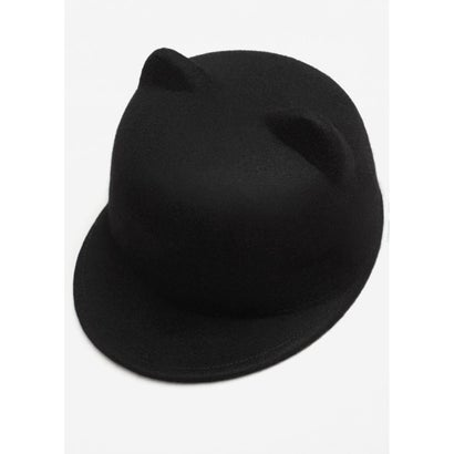 キャップ .-- CAT (ブラック)
