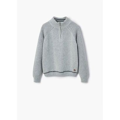 セーター .-- OSCAR (パステルグレー)