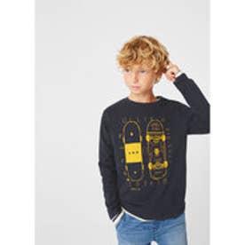 Tシャツ .-- SPENCER (ネイビーブルー)