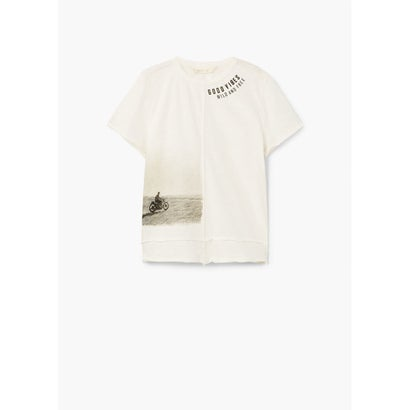 Tシャツ .-- WILD (ライトベージュ)