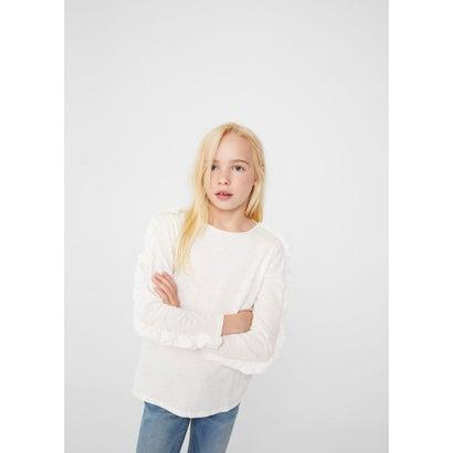 Tシャツ .-- CARLOTA2 (ナチュラルホワイト)
