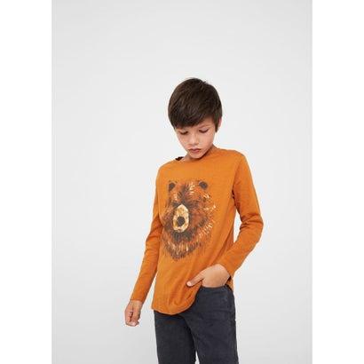 Tシャツ .-- ANIMAL (ミディアムイエロー)