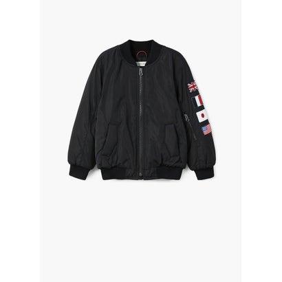 ジャケット .-- FLAGS (ブラック)