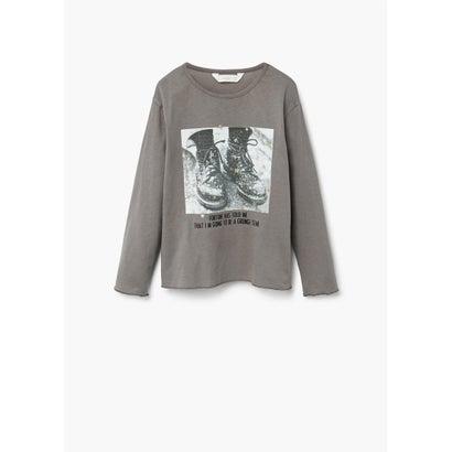 Tシャツ .-- LAGOS (チャコール)