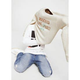 スウェットシャツ .-- CHEAP2 (パステルグレー)
