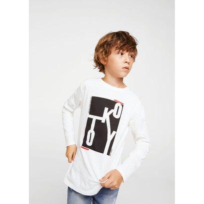 Tシャツ .-- CITIES (ナチュラルホワイト)