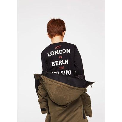 Tシャツ .-- CITIES (チャコール)