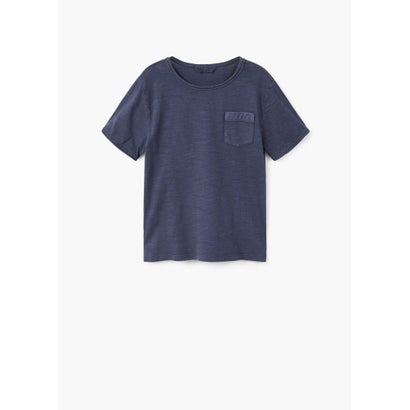 Tシャツ .-- BENJAMIN (ネイビーブルー)
