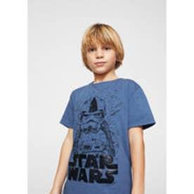 Tシャツ .-- WARS (ミディアムブルー)