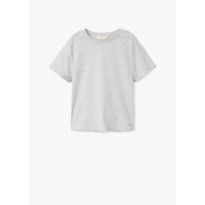 Tシャツ .-- BASIC (ミディアムグレー)