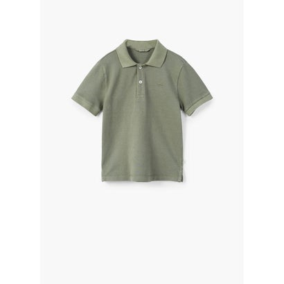 ポロシャツ .-- POLO (ベージュ-カーキ)