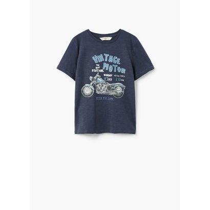 Tシャツ .-- EPETBOY (ネイビーブルー)
