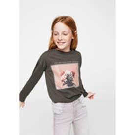 Tシャツ .-- PPOLAR (チャコール)