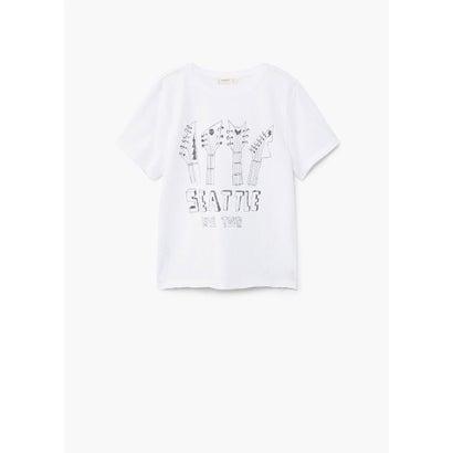 Tシャツ .-- TOUR (ホワイト)
