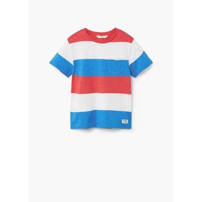 Tシャツ .-- RAYA (ミディアムブルー)