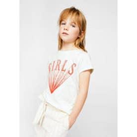 Tシャツ .-- CANDY (ナチュラルホワイト)